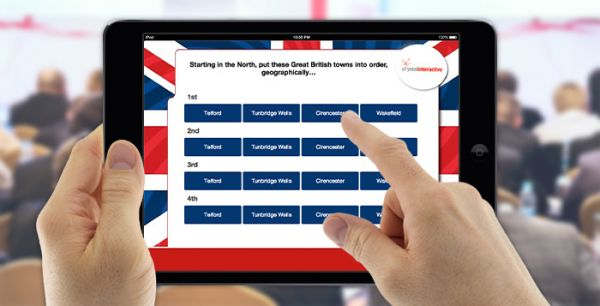 547b21bf6f Use our interactive ipads for quizzes to increase audience involvement